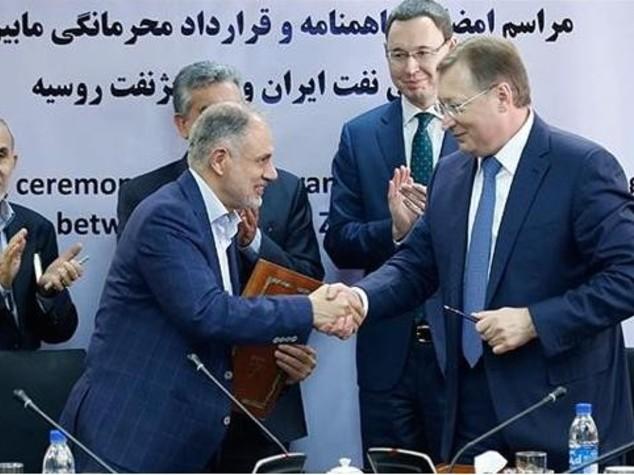 Iran: firmato con russa Zarubezhneft accordo su due giacimenti