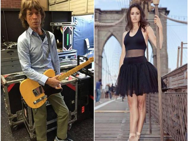 A 72 anni Mick Jagger papà per ottava volta
