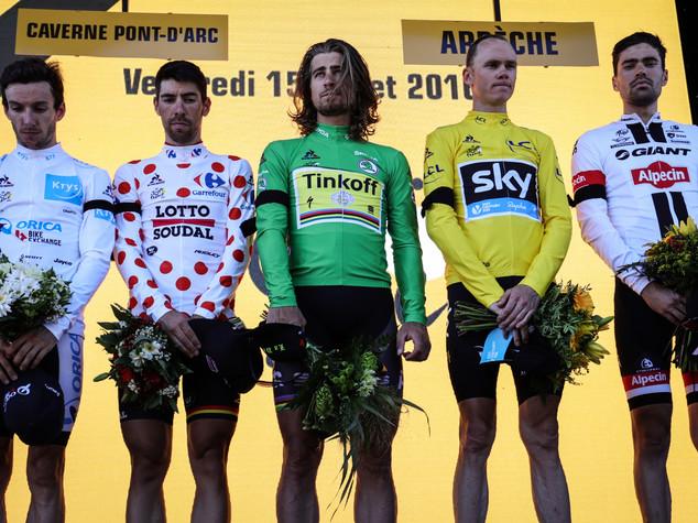 "Tour 2016: crono a Dumoulin, Froome allunga. Aru a 5'16"""