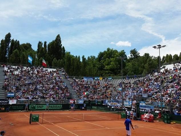 Coppa Davis, Fognini batte Monaco in 3 set. Italia-Argentina 1-1