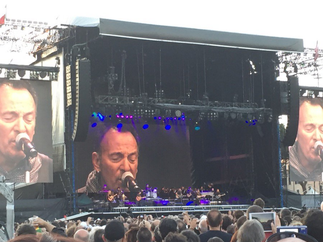 L'energia di Springsteen in un Circo Massimo blindato