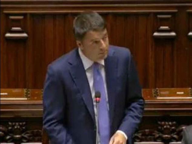 """Renzi: Mille giorni ultima chance """"Il tempo delle rendite e' finito"""""""
