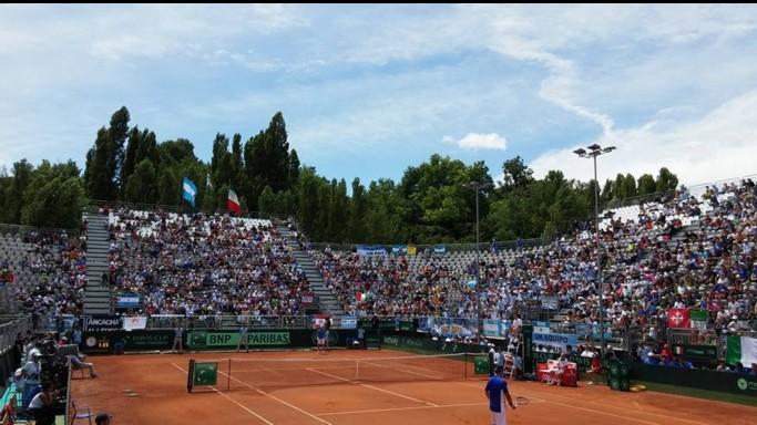 Coppa Davis: Fognini ko con Delbonis, Italia eliminata ai quarti