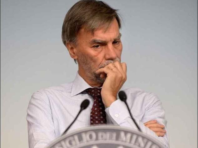 """Delrio, """"deroga patto stabilita' per paesi colpiti"""". Allerta maltempo al cento-nord"""