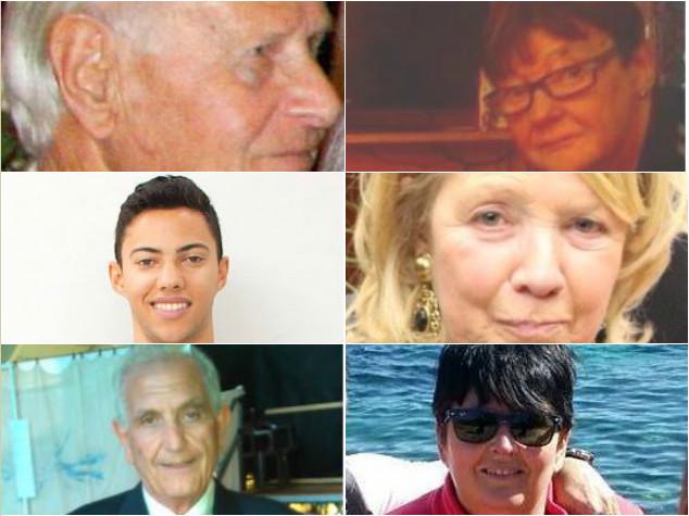 Da Nicolas a Mario, chi erano i 6 italiani morti