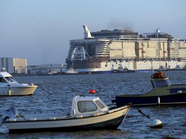 Varata la nave da crociera piu' grande mondo, pronta per il 2016