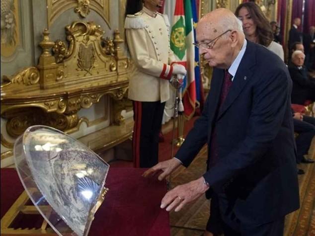 """Napolitano difende le riforme  """"Non c'e' rischio di autoritarismo"""""""