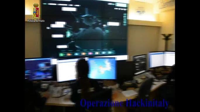 "'Hackinitaly"", polizia e Fbi sgominano frode informatica"