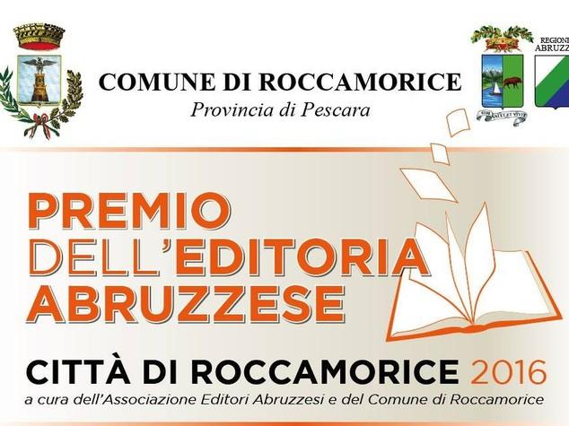 """Editoria: il 31 il premio """"Citta' Roccamorice"""""""