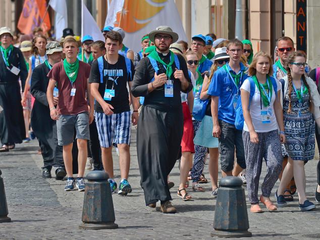 Papa, a Cracovia con giovani che non vogliono vivacchiare