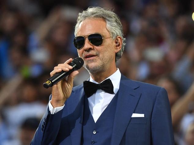 Prima volta di un concerto a Foro Romano,ospite Bocelli