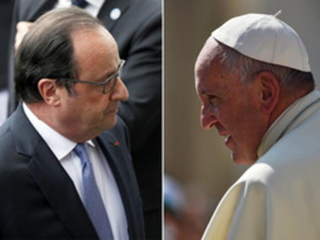 Francia: assalto a chiesa, telefonata tra Hollande e il Papa