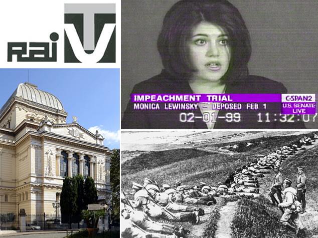 Dall'inizio della Grande Guerra alla fine del monopolio Rai, i fatti del 28 luglio