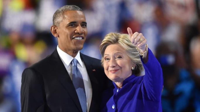 """Obama 'incorona' Hillary  """"Mai nessuno meglio di lei"""""""