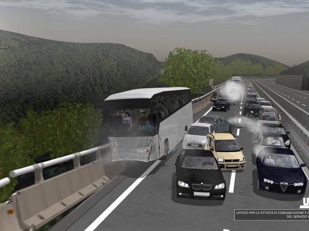 Avellino, strage bus. In un video choc il volo dal viadotto