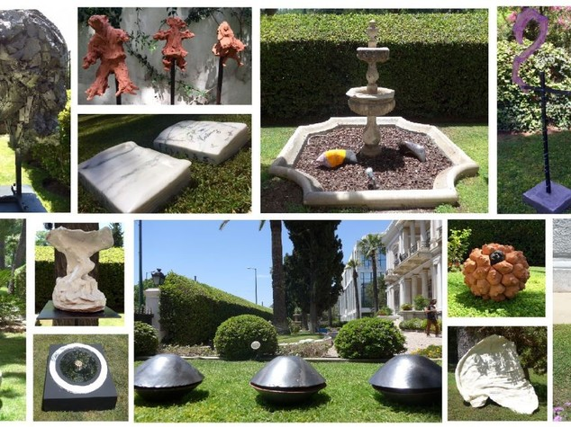 Italian Embassy in Athens hosts sculpture exhibition