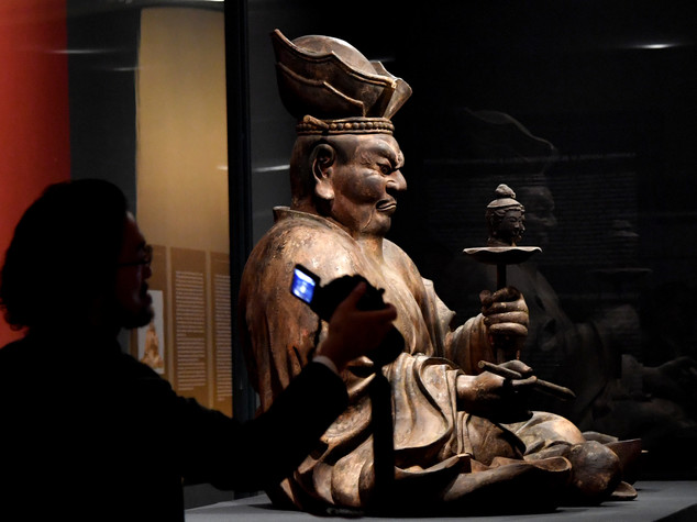 Buddhist art from Japan on display in Rome