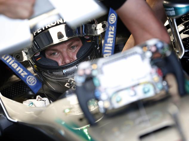 Gp Germania, Rosberg conquista la pole position
