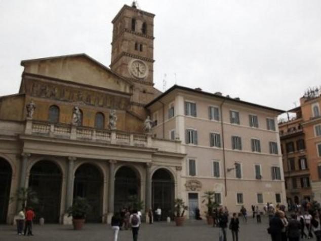 """Imam a Santa Maria in Trastevere, """"qui siamo a casa"""""""