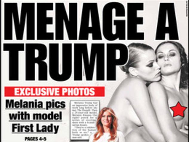 Melania Trump nuda, l'aspirante first lady senza veli sul New York Post