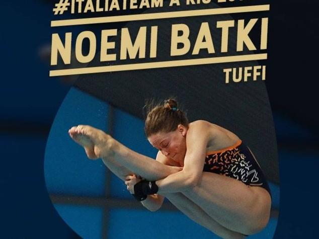 Rio2016: Tiro a segno. Carabina 10 mt donne, Zublasing eliminata