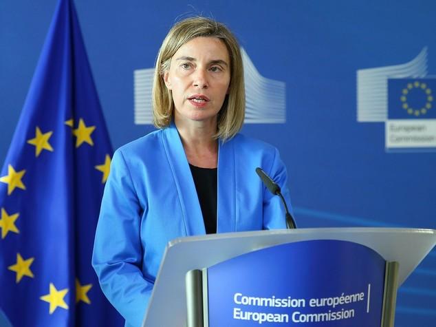 """Mogherini, """"su Esteri e Difesa c'è una linea comune"""""""