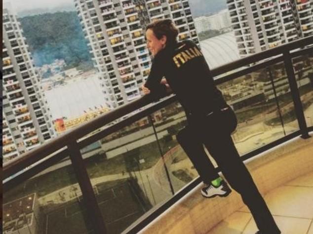 Federica Pellegrini svela su Instagram l'alloggio atleti a Rio