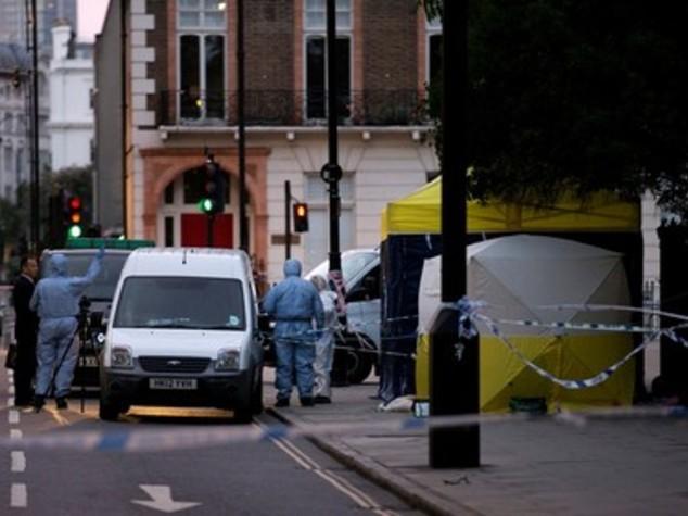 Londra, il luogo in cui è morta accoltellata una donna