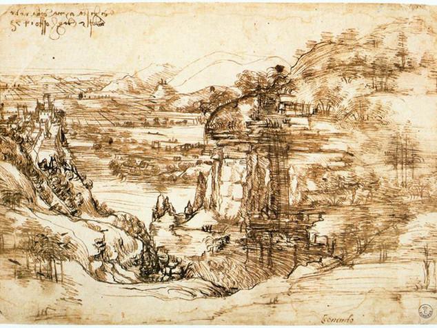 Mostre: celebre disegno Leonardo tornera' a Vinci dopo 500 anni