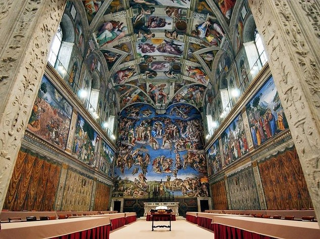 Messico, 2 mln foto replicano la Cappella Sistina
