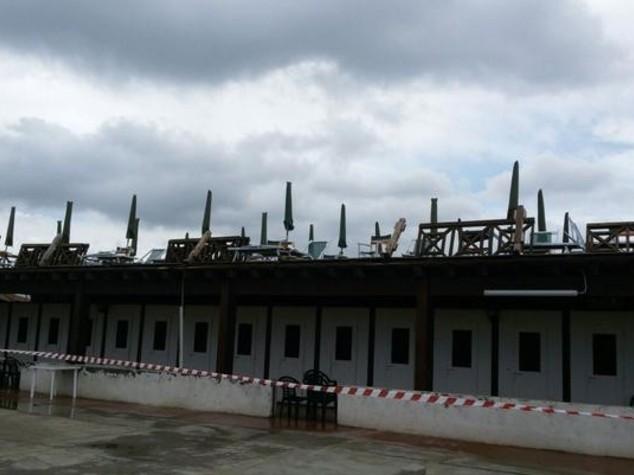 Maltempo: tromba d'aria a Marina Pisa, no danni a persone o cose