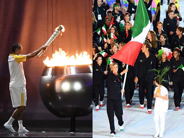 Aperti i giochi olimpici, Pellegrini alfiere orgoglioso