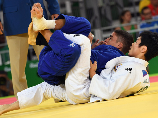Judo, 60 kg, eliminato all'esordio il siciliano Manzi