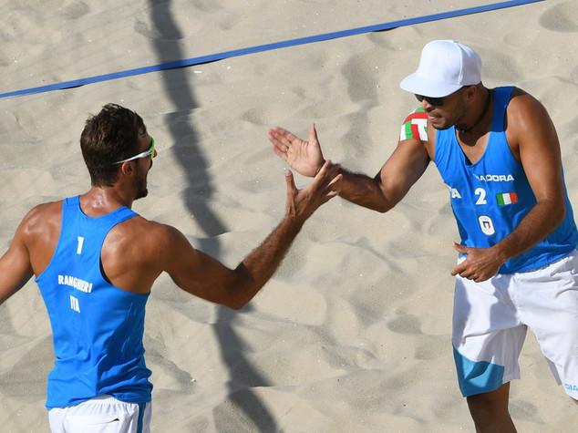 Beach volley, buono il debutto di Ranghieri-Carambula