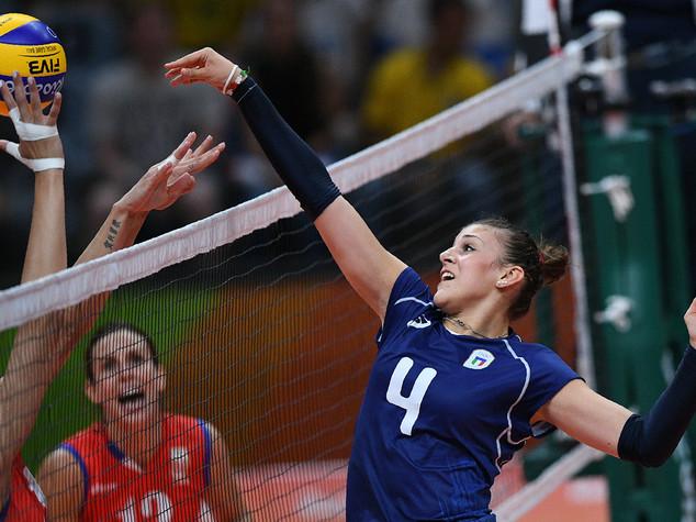 Volley femminile, Italia sconfitta 3-0 dalla Serbia