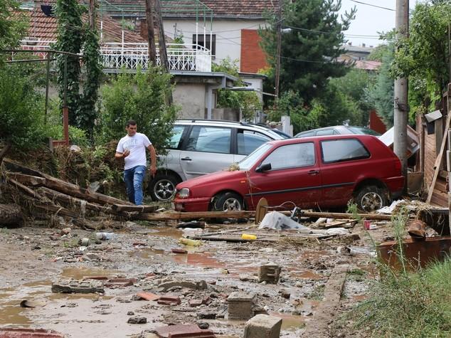 Tempesta pioggia e vento in Macedonia, 15 morti e 6 dispersi