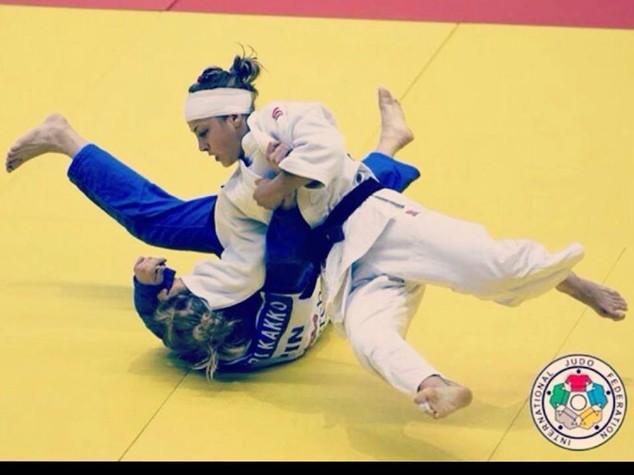 Argento per Odette Giuffrida nel judo donne 52 kg