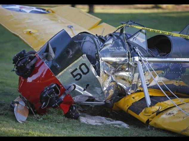 Nell'iincidente aereo Harrison Ford si e' fratturato caviglia e bacino