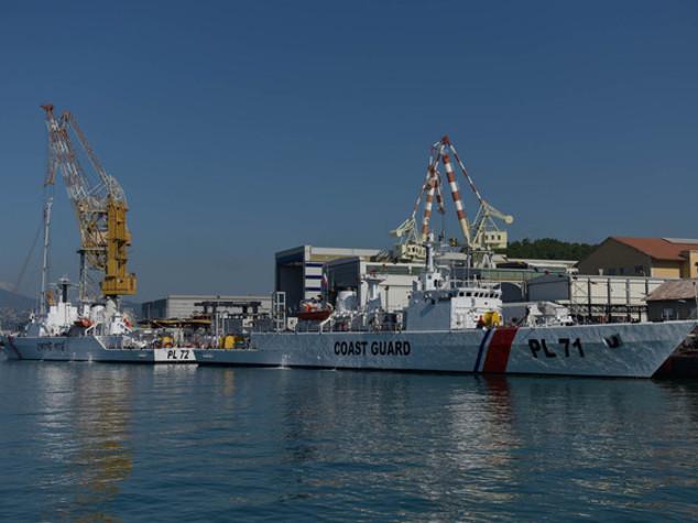 Fincantieri consegna primi due opv a guardia costiera Bangladesh