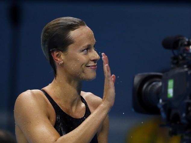 Sui media Pellegrini e nuoto superstar