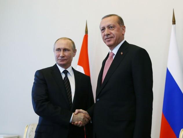Erdogan da Putin, disgelo Russia-Turchia