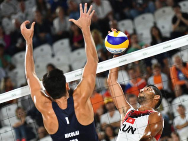 Beach volley: riscatto Nicolai-Lupi, tunisini ko per 2-0