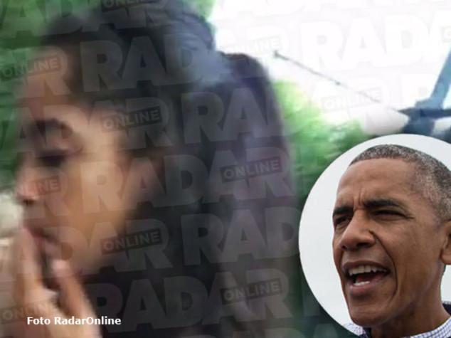 """Malia Obama fuma in video, stampa Usa """"spinello o sigaretta?"""""""