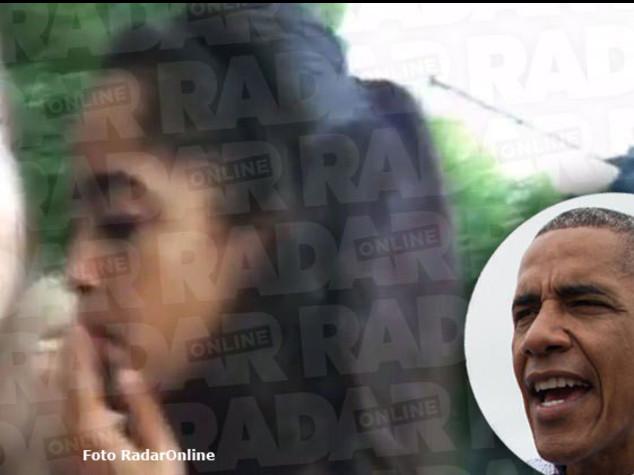 Malia Obama beccata mentre fuma al Lollapalooza, un testimone Era uno spinello