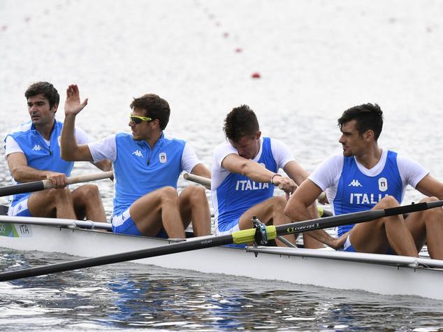Grande rimonta del 4 senza, bronzo per l'Italia