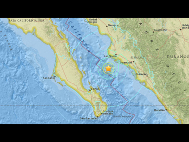 Messico: terremoto magnitudo 6.6 a largo costa nord-ovest