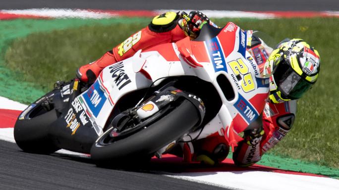 """Gp Aragon. Rossi """"piuttosto contento, bene sul giro secco"""""""