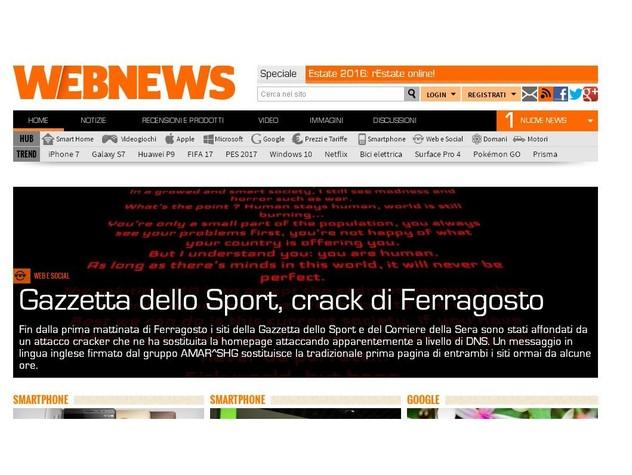 Hacker bloccano i siti del Corriere e della Gazzetta per 3 ore