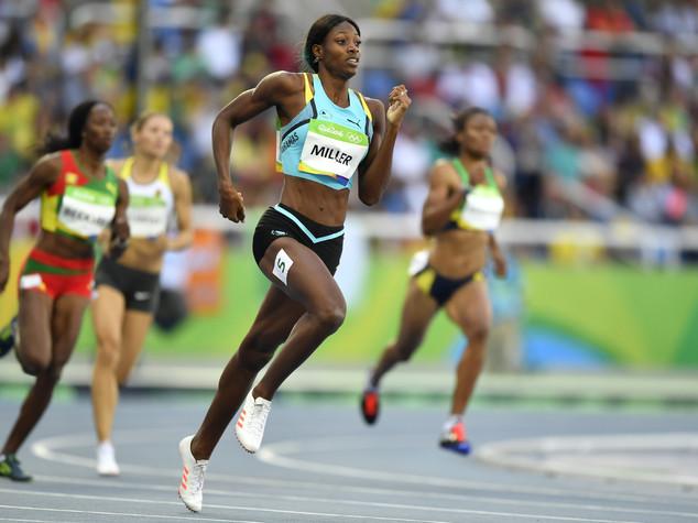 Atletica, alla Miller l'oro nel 400 donne