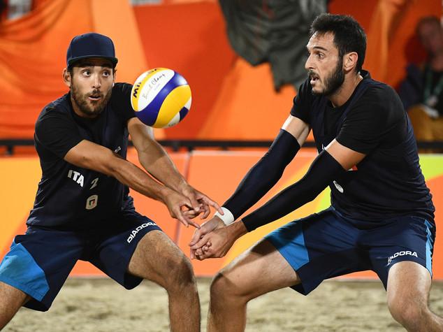 Beach volley, Italia prima volta in semifinale con Lupo-Nicolai